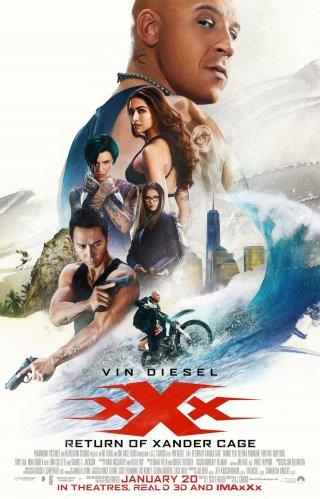 xXx: Return of Xander Cage, il nuovo poster del film