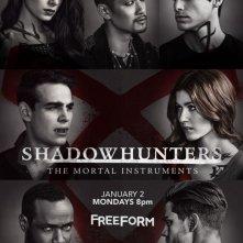 Shadowhunters: nel poster della seconda stagione