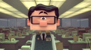 Testa o cuore: un'immagine tratta dal corto animato