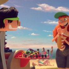 Testa o cuore: un'immagine del corto animato