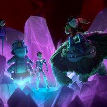 Trollhunters: un'immagine degli eroici protagonisti