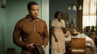 Barriere: Russell Hornsby e Viola Davis in una scena del film