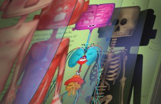 Testa o cuore: un'immagine del corto Disney