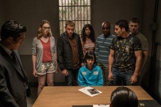 Sense8: un'immagine dei protagonisti della serie nello speciale di Natale