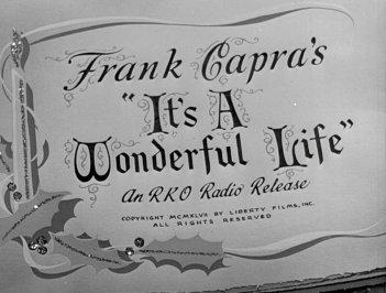 La vita è meravigliosa di Frank Capra