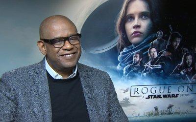 """Forest Whitaker su Rogue One: """"La connessione vera e profonda è riconoscere che siamo in questo mondo insieme"""""""