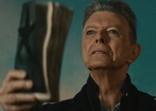 David Bowie nel video di Blackstar