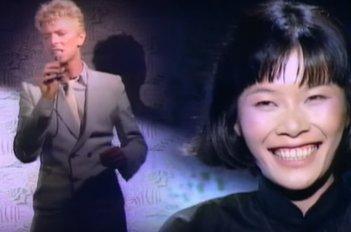 David Bowie in un'immagine promozionale