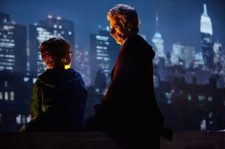 Doctor Who: l'attore Peter Capaldi in The Return of Doctor Mysterio