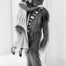 L'impero colpisce ancora: Carrie Fisher e Chewbacca