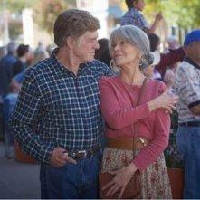 Our Souls at Night: Robert Redford e Jane Fonda nella prima immagine del fim targato Netflix