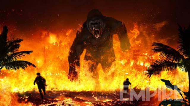 Kong: Skull Island, un concept art del film
