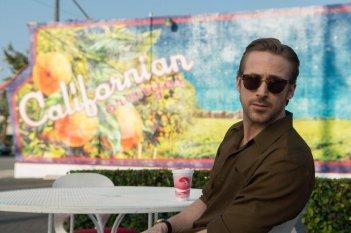 La La Land: Ryan Gosling in un momento del film