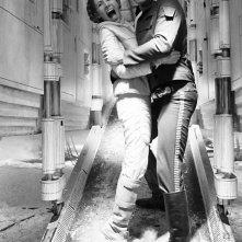 Guerre stellari: Harrison Ford abbraccia Carrie Fisher