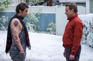 Proprio lui?: James Franco e Bryan Cranston in un momento del film