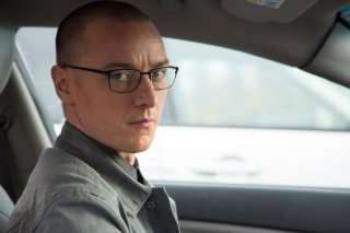 Split: James McAvoy in un momento del film