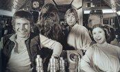 Carrie Fisher: le foto più belle (e assurde) dal set di Star Wars