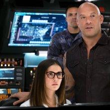 xXx - Il ritorno di Xander Cage: Vin Diesel, Ruby Rose e Nina Dobrev in una scena del film