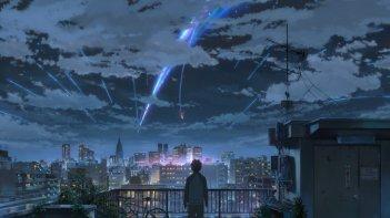 Your name. - Un'immagine del film d'animazione