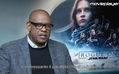 Rogue One: Intervista a Forest Whitaker