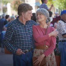 Our Souls at Night: Robert Redford e Jane Fonda in una foto del film