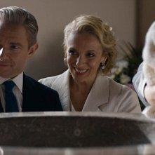 Sherlock: Martin Freeman e Amanda Abbington in The Six Thatchers