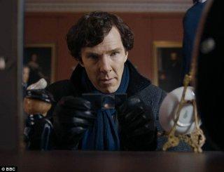Sherlock: Benedict Cumberbatch nell'episodio The Six Thatchers