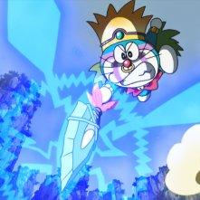 Doraemon Il film: Nobita e la nascita del Giappone - Un momento del film d'animazione