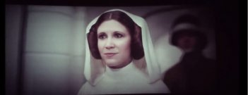 Carrie Fisher in versione digitale in Rogue One