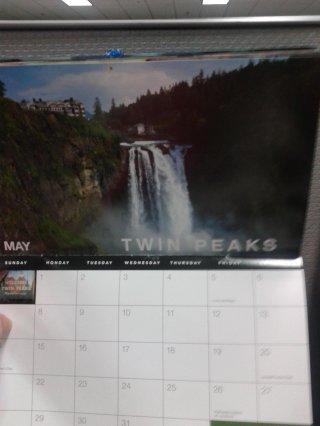 I segreti di Twin Peaks: una foto di un calendario suggerirebbe la data della premiere