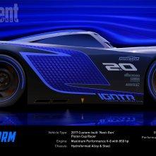 Cars 3: un'immagine di Jackson Storm