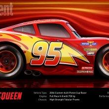 Cars 3: un'immagine di Saetta McQueen
