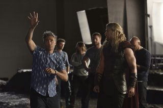 Thor: Ragnarok, una nuova foto scattata sul set