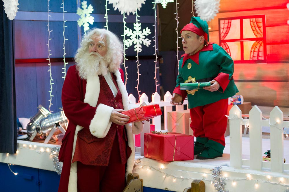 Una scena di S.O.S. Natale