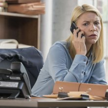 Homeland: Claire Danes in una foto della sesta stagione