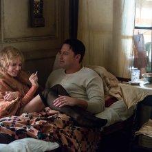 La legge della notte: Ben Affleck e Sienna Miller in una scena del film
