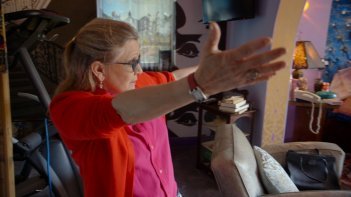 Bright Lights: l'attrice Carrie Fisher nel documentario