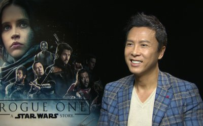 """Rogue One, parla Donnie Yen: """"Se mi avessero dato una spada laser l'Impero se la sarebbe vista brutta"""""""