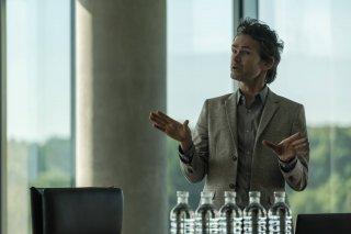 Sleepy Hollow: l'attore Jeremy Davies nell'episodio Columbia