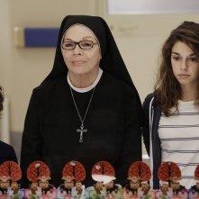 Che Dio ci aiuti: un'immagine di Valeria Fabrizi, Christian Monaldi e Bianca Di Veroli