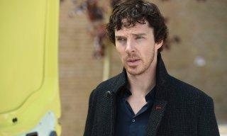 Sherlock: un primo piano di Benedict Cumberbatch