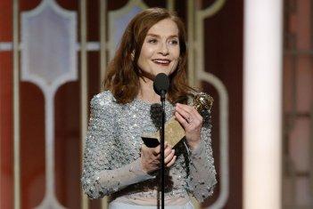 Golden Globes 2017: Isabelle Huppert premiata per Elle