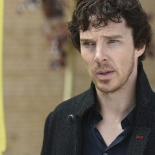 Sherlock: il protagonista Benedict Cumberbatch in The Lying Detective