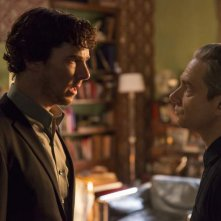 Sherlock: Benedict Cumberbatch e Martin Freeman in The Lying Detective
