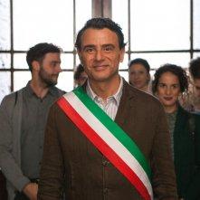 L'ora legale: Vincenzo Amato in una scena del film