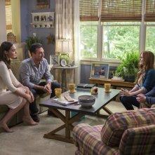 Le spie della porta accanto: Zach Galifianakis, Jon Hamm, Gal Gadot e Isla Fisher in una scena del film