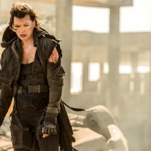 Resident Evil - The Final Chapter: Milla Jovovich in una scena del film
