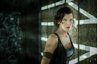 Resident Evil - The Final Chapter: Milla Jovovich in un momento del film