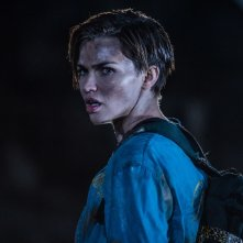 Resident Evil - The Final Chapter: Ruby Rose in una scena del film