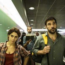 Smetto quando voglio - Masterclass: Edoardo Leo, Greta Scarano e Marco Bonini in una scena del film